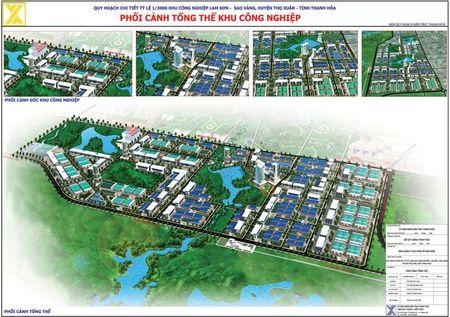 Tap doan Xay dung Mien Trung: Tien phong phat trien ha tang KCN tai Thanh Hoa - Anh 1