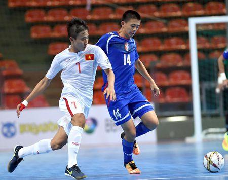 U20 Futsal Viet Nam thang nguoc dong ngoan muc truoc Dai Loan - Anh 1