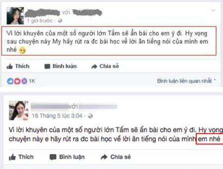 Co gai to Huyen My bat ngo sua status - Anh 1