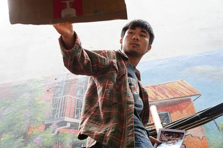 Tram tro truoc ve dep 'ngo 3D' o Ha Noi - Anh 7