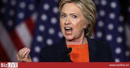 Hillary Clinton tung ne cai om cua Trump khi luyen tranh luan - Anh 1