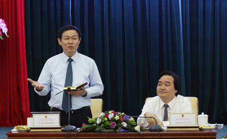 Pho Thu tuong Vuong Dinh Hue lam viec voi Bo Y te, Bo Giao duc&Dao tao - Anh 2