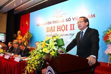 Thu truong Bo TT&TT Nguyen Minh Hong dac cu Chu tich Hoi Truyen thong so Viet Nam - Anh 4
