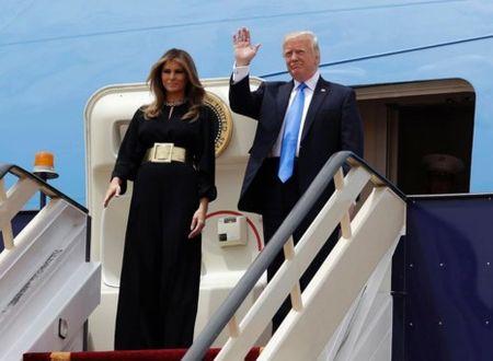 A Rap Saudi tiep don ong Trump khac han voi ong Obama - Anh 1