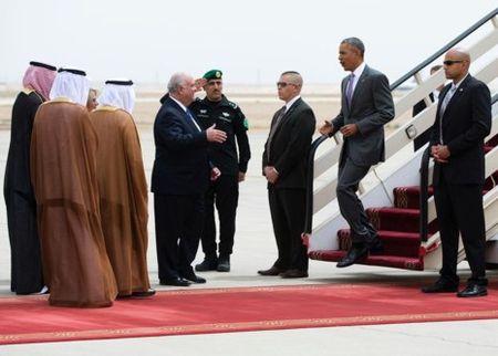 A Rap Saudi tiep don ong Trump khac han voi ong Obama - Anh 6