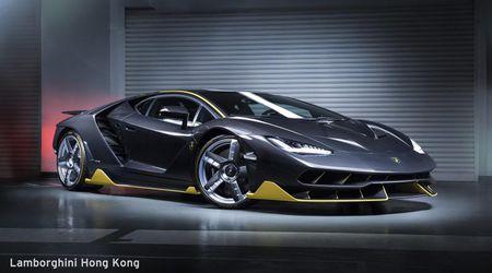 Chiec Lamborghini Centenario dau tien da co mat tai chau A - Anh 1