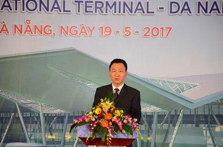 Nha ga hanh khach quoc te Da Nang chinh thuc duoc dua vao su dung - Anh 1