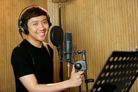 Tim - Truong Quynh Anh tinh tu di thu am MV ca nhac - Anh 6