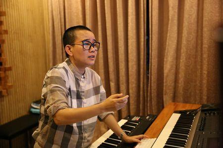 Tim - Truong Quynh Anh tinh tu di thu am MV ca nhac - Anh 8