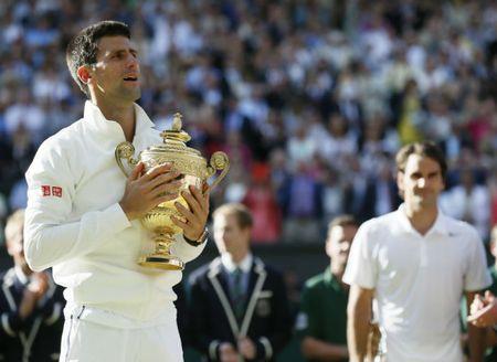 """Wimbledon: Djokovic luyen """"don hiem"""", dau Federer - Nadal - Anh 2"""