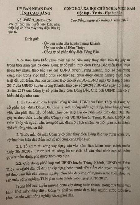 Kien nghi dung mua dien neu Nha may thuy dien Ban Ra 'phot lo' cam ket - Anh 2