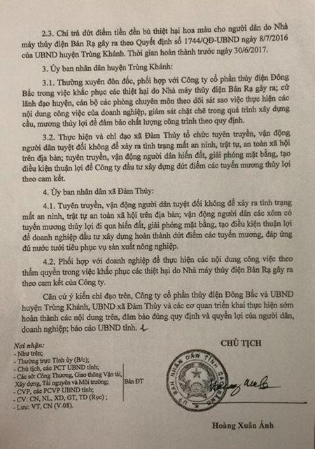 Kien nghi dung mua dien neu Nha may thuy dien Ban Ra 'phot lo' cam ket - Anh 3
