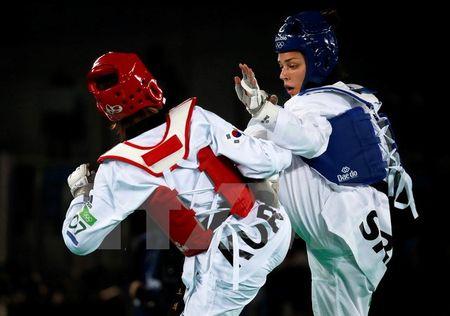 Han Quoc dong y cho doi taekwondo Trieu Tien toi tham gia thi dau - Anh 1
