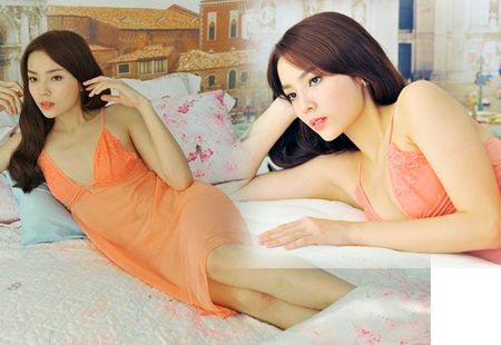 Elly Tran, Thuy Tien hut ngan anh mat voi vay ngu mong manh - Anh 8