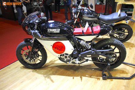 Tho Sai Gon bien Ducati Scrambler Sixty2 thanh 'thuoc doc' - Anh 2