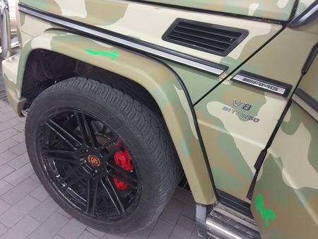 Dan choi Viet 'thay ao' cho Mercedes-Benz G63 hon 10 ty - Anh 4