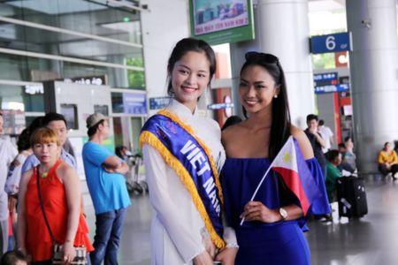 Nguoi dep dong hanh Hoa hau Huu nghi ASEAN Minh Phuong: An tuong ban dau may ai quen - Anh 1