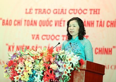 Bao chi gop phan co vu nganh Tai chinh hoan thanh nhiem vu - Anh 1