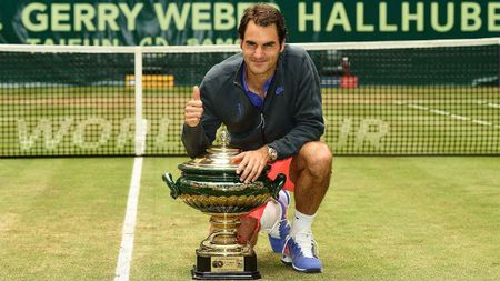 Tennis 24/7: Federer hen dau Nishikori o ban ket Halle - Anh 1