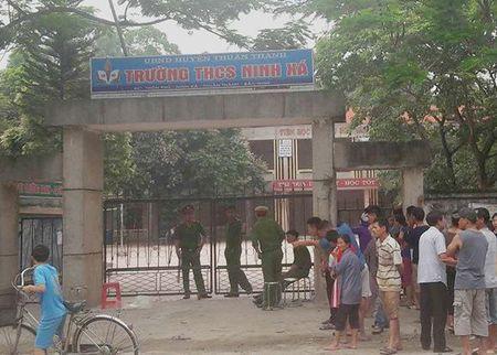 Bac Ninh: Bao ve truong chet bat thuong tai noi lam viec - Anh 1