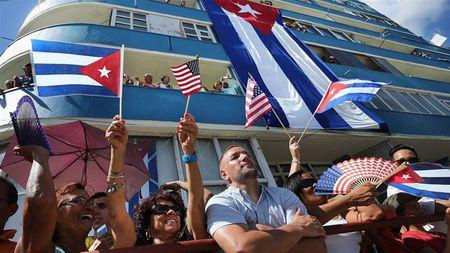 My cong bo chinh sach moi, buoc thut lui trong quan he My - Cuba - Anh 1