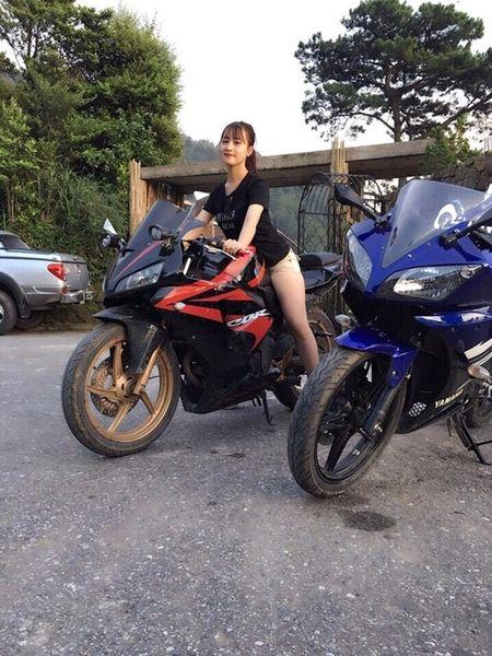 Nu tai xe Grabbike xinh nhat vinh Bac Bo lam anh em muon di xe om ca thang - Anh 8