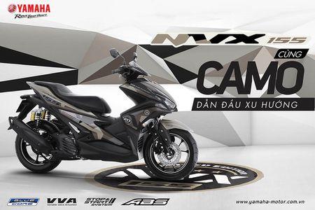 Trinh lang Yamaha NVX 155 Camo Limited Edition gia 52,69 trieu dong - Anh 1