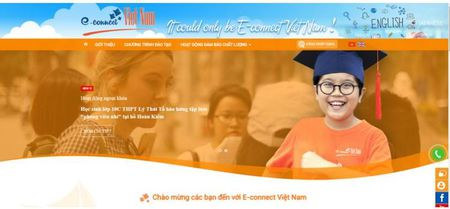 E-connect: Hoc tot tieng Anh voi nguoi nuoc ngoai trong truong hoc - Anh 1