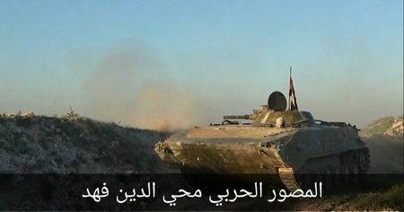 Quan doi Syria dap tan tan cong thanh chien o nam Hama - Anh 1