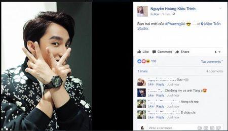 Son Tung M-TP dong 'Em chua 18' phan 2, 'cap' voi 'hot girl tra sua' Kieu Trinh? - Anh 5