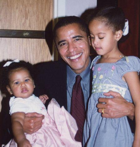 Ba Michelle Obama gui nhung loi co canh cho chong nhan ngay cua Cha - Anh 1