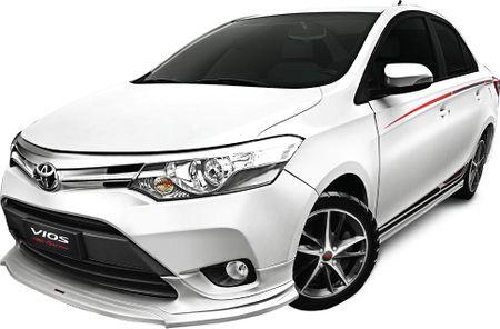 Toyota Vios co them phien ban moi tai Viet Nam - Anh 1