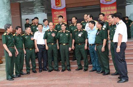 Tong cuc Hau can khai mac hoi thi chu nhiem hau can trung doan bo binh - Anh 1