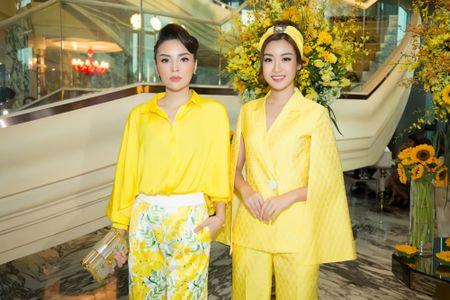 Hoa hau Ky Duyen lanh lung do sac voi HH Do My Linh - Anh 1