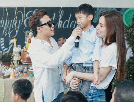 Cuong Dola - Ha Ho tai hop to chuc sinh nhat con trai - Anh 6