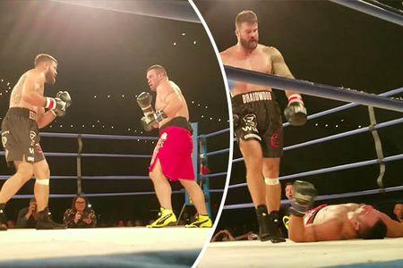 Vo si UFC tu vong ngay tren san dau vi dinh cu dam knock-out - Anh 2
