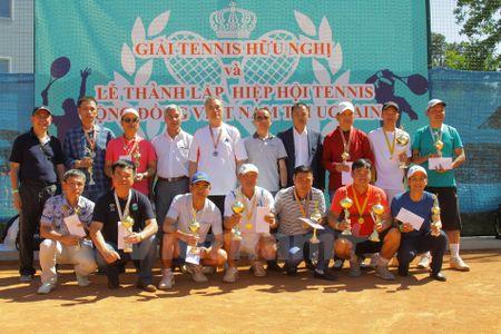 Thanh lap Hiep hoi tennis cong dong Viet Nam tai Ukraine - Anh 1