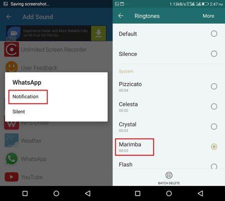 Thiet lap am bao khac nhau cho cac ung dung Android - Anh 3
