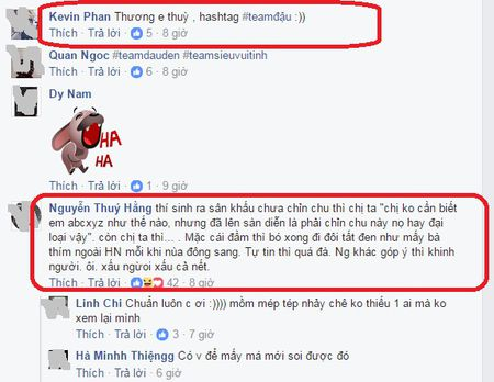 Hoang Thuy an che quen xia rang gay 'sot' duoc MC Phan Anh ung ho? - Anh 5