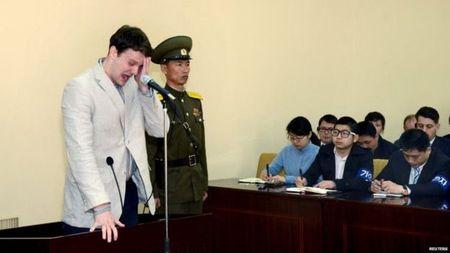 Vu sinh vien My chet: Ong Trump gay gat voi Trieu Tien - Anh 2