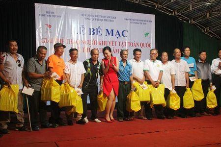 Giai The thao nguoi khuyet tat nam 2017: Thanh pho Ho Chi Minh dan dau toan doan - Anh 2