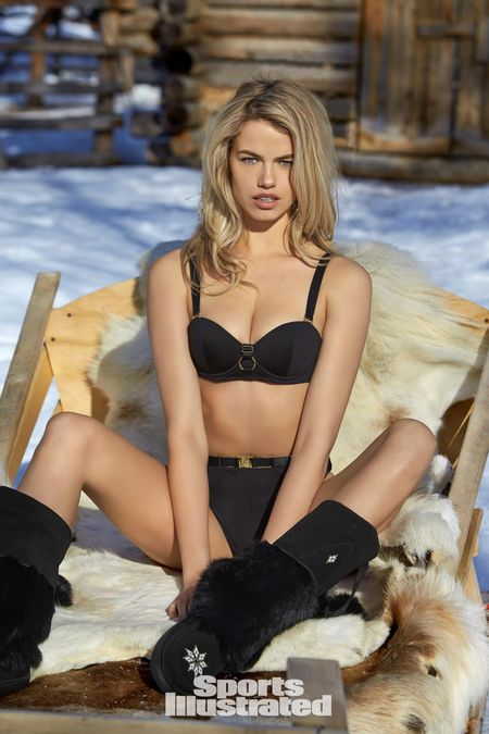 Hailey Clauson lap lo vong 1 trong bo anh moi nhat - Anh 6