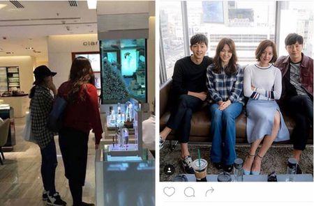 Nhung lan Song Joong Ki va Song Hye Kyo bi dinh tin don hen ho - Anh 3