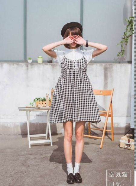 Hoa tiet Gingham - hot trend cho cac co gai he nay - Anh 1