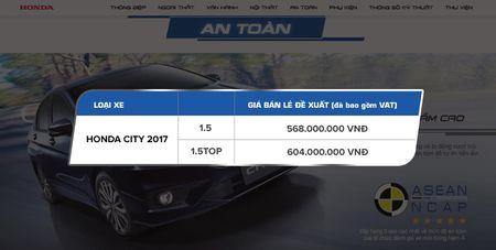 Honda City 2017 bo phien ban so san MT, gia tu 568 trieu dong - Anh 8