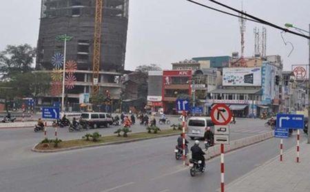 Ha Noi thi cong du an cau vuot tai nut giao An Duong - duong Thanh Nien - Anh 1