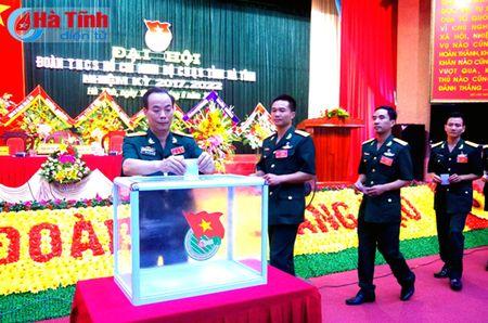 Doan Thanh nien Bo CHQS tinh Ha Tinh dai hoi nhiem ky 2017 – 2022 - Anh 2