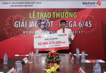 Chu nhan giai Jackpot 82 ty dong chi 100 trieu lam tu thien - Anh 1