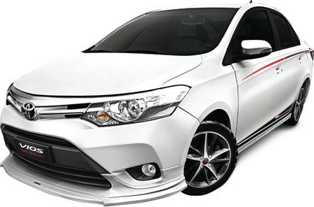Toyota Vios phien ban the thao chot gia 644 trieu dong - Anh 1