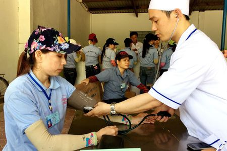 LDLD tinh Quang Ngai: Cac hoat dong trong Thang Cong nhan ngay cang da dang - Anh 1